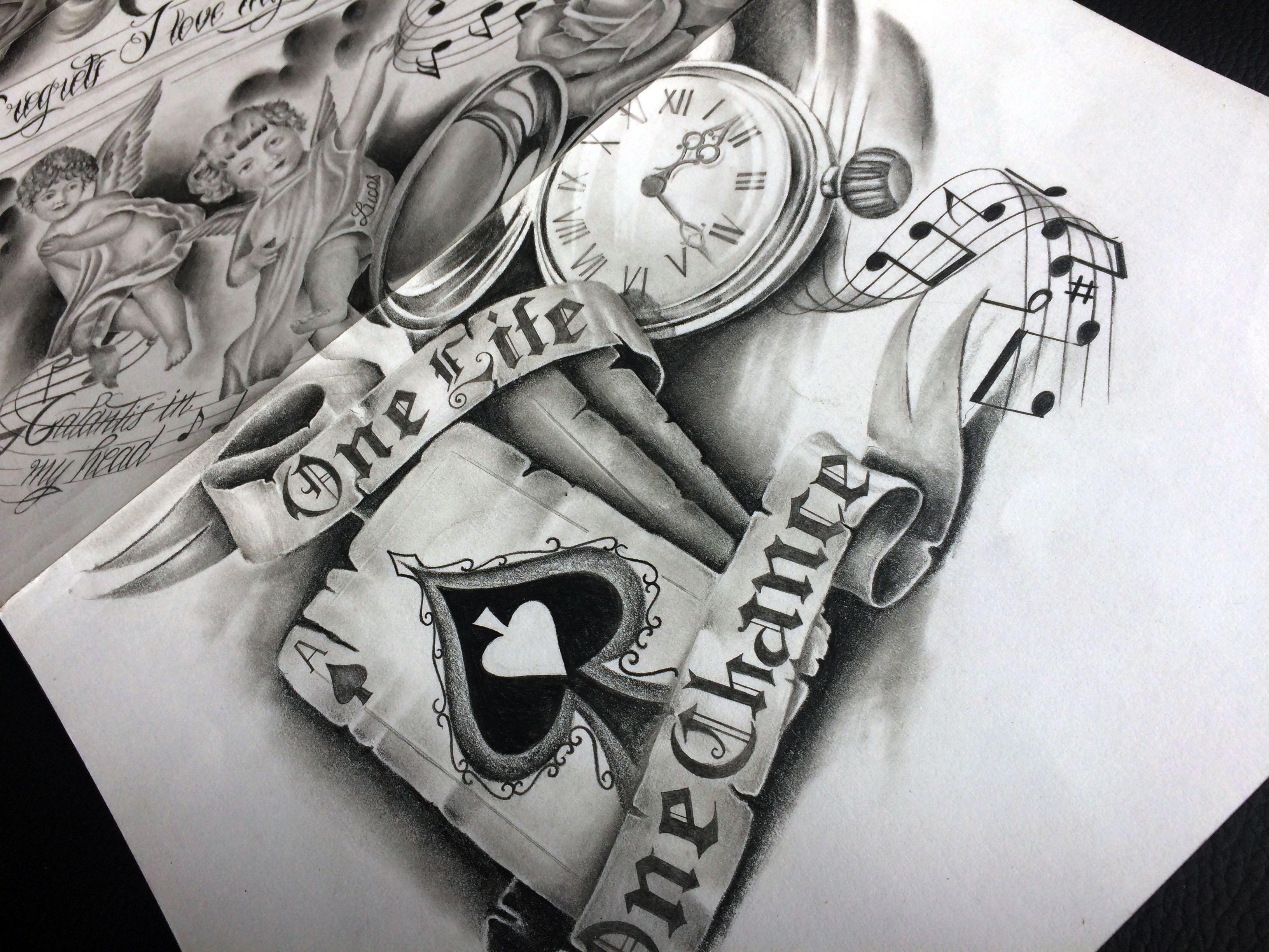 dessin de tatouage original