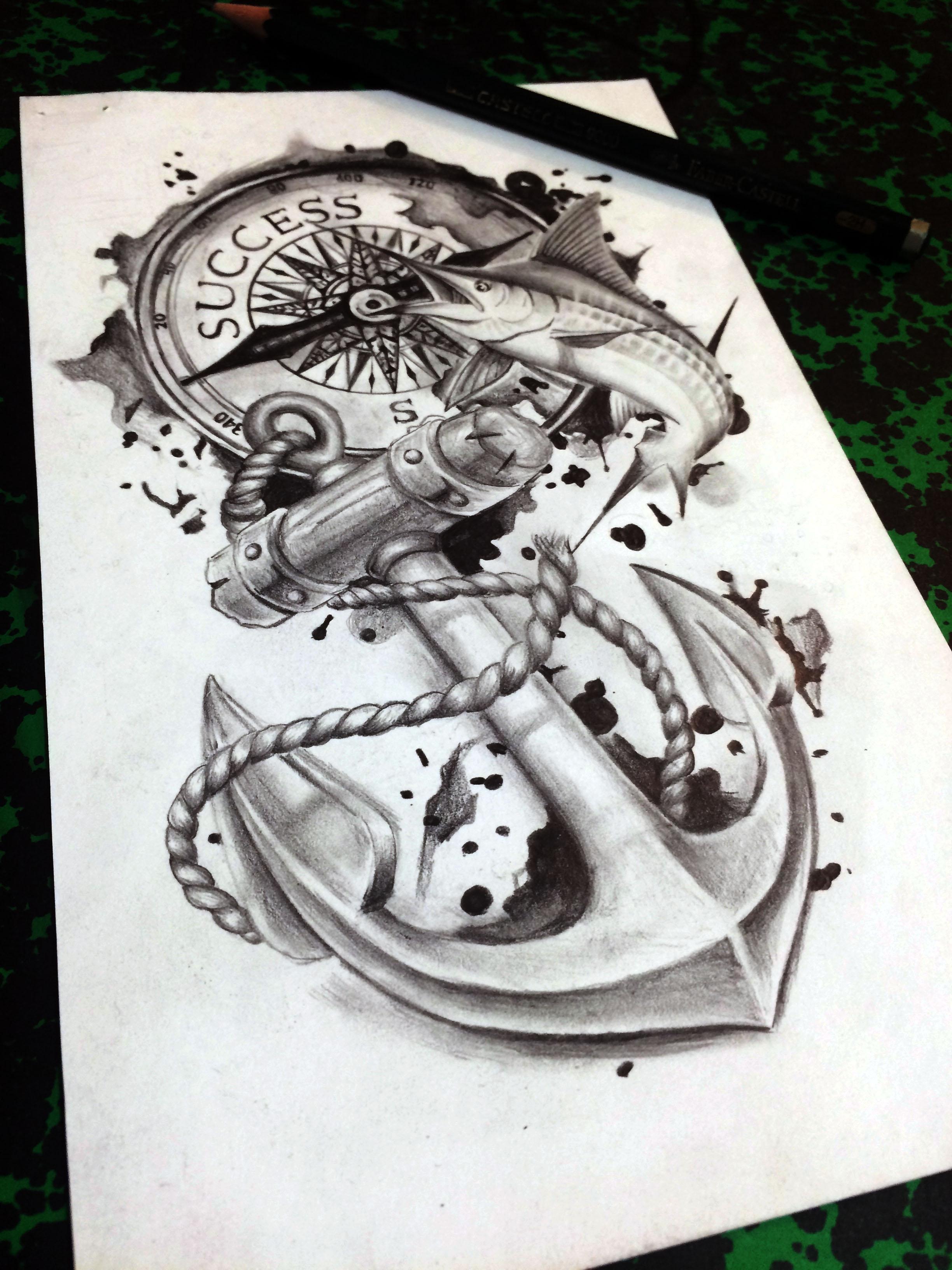 Benjamin Maingriz Tattoo Design