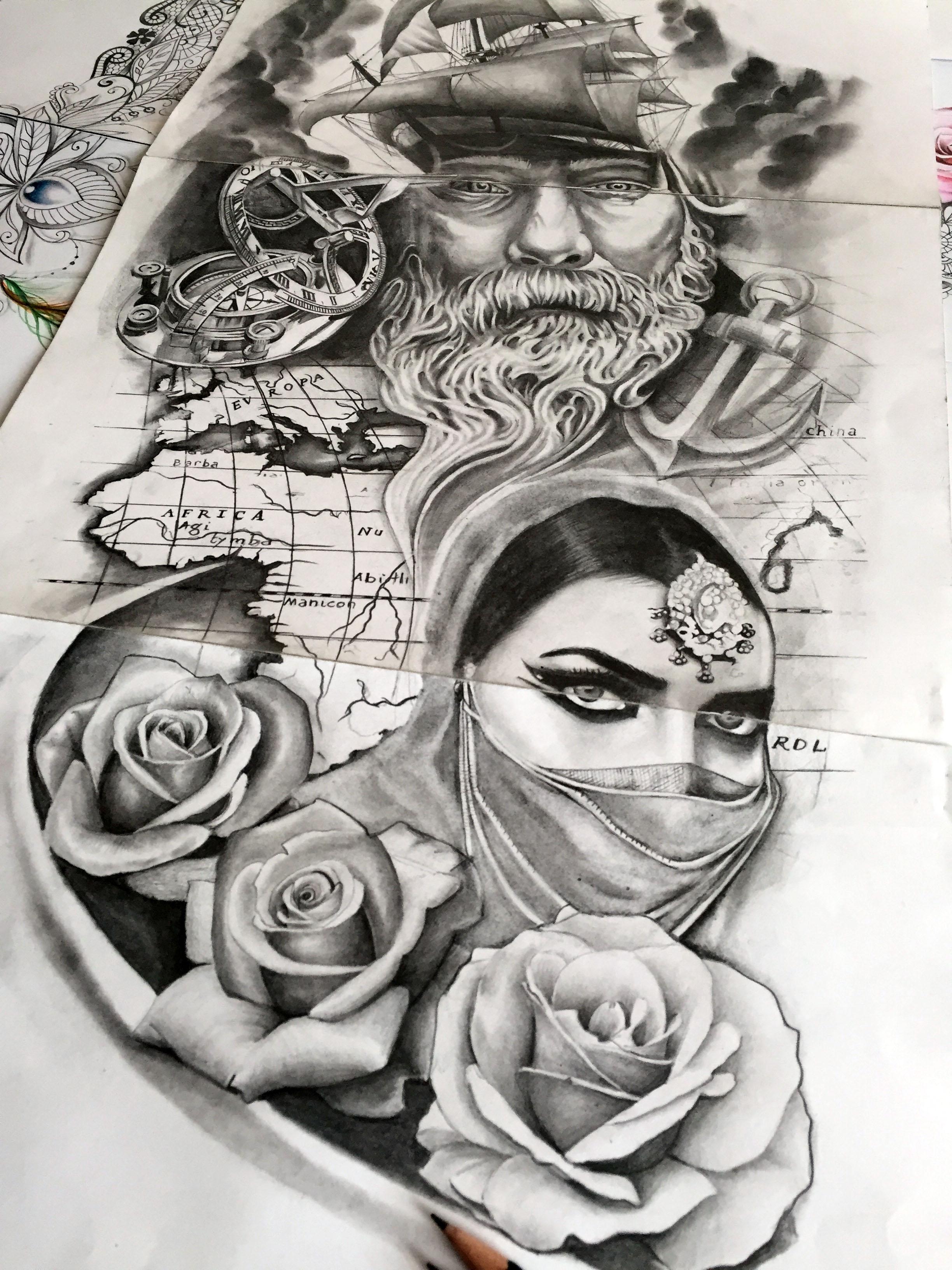 letoile du matin tatouage