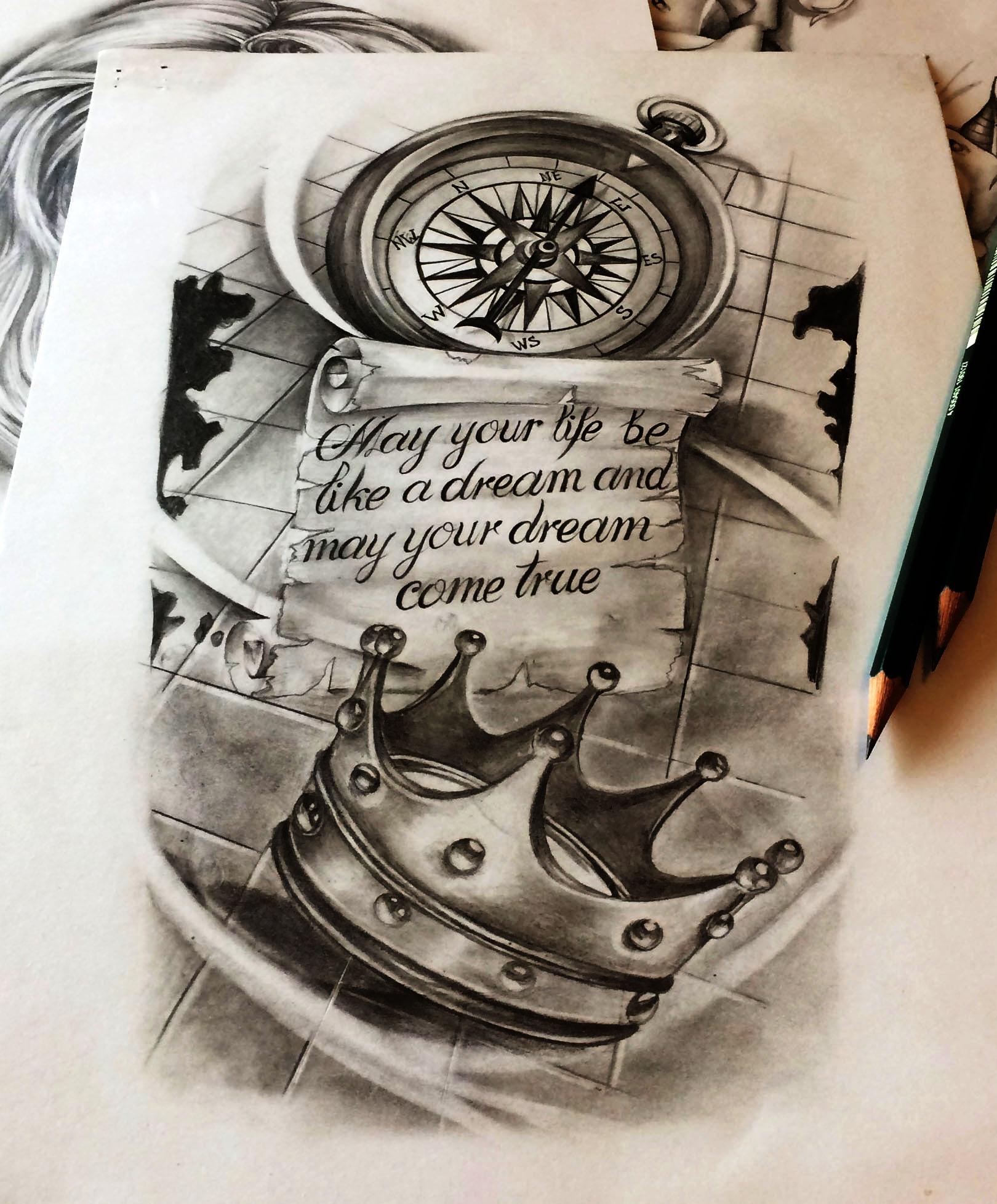 cedric maingriz tattoo design
