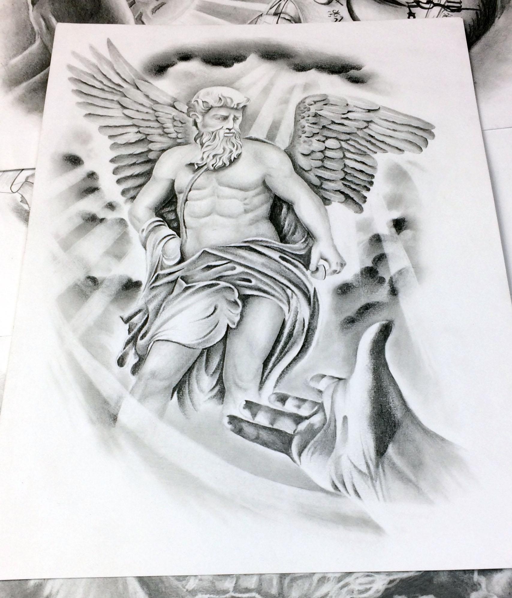 Julie Maingriz Tattoo Design