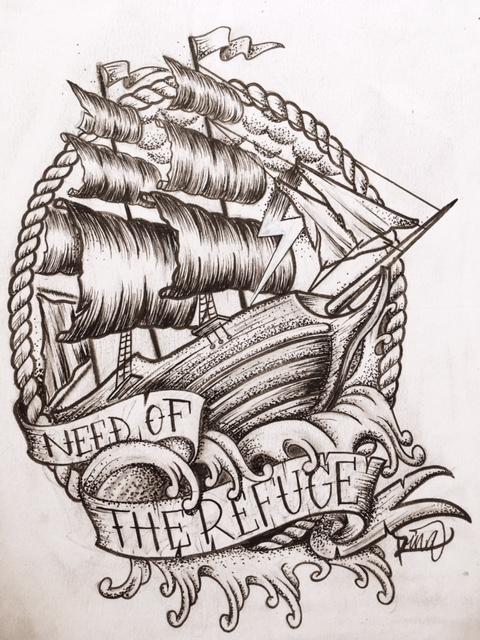 Need Of The Refuge Maingriz Tattoo Design