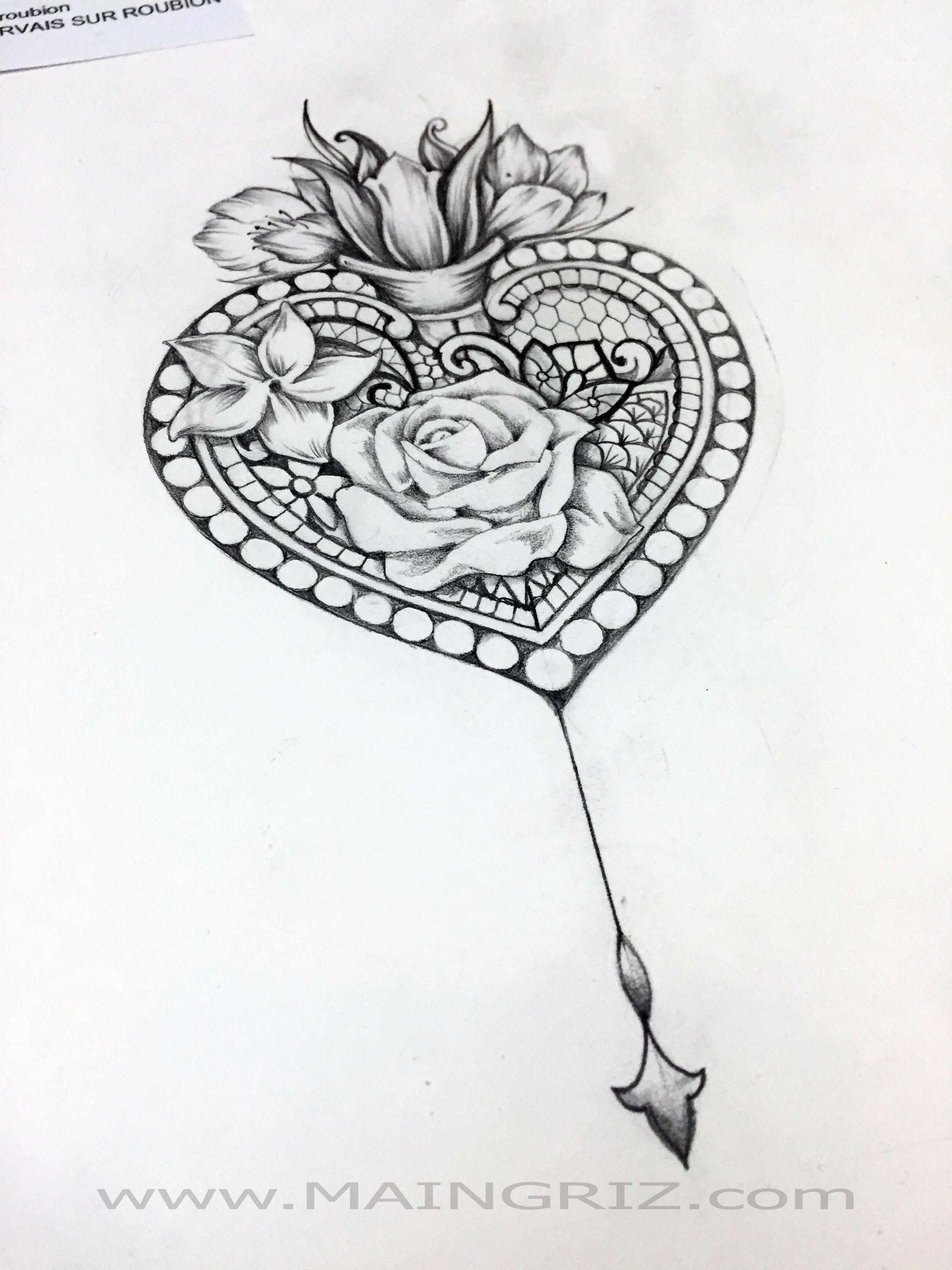 Style de tatouage fleur - Fleurs a dessiner modele ...