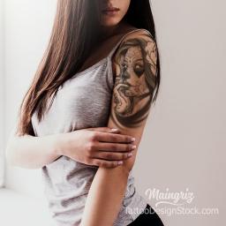 ROMAIN   Maingriz Tattoo Design