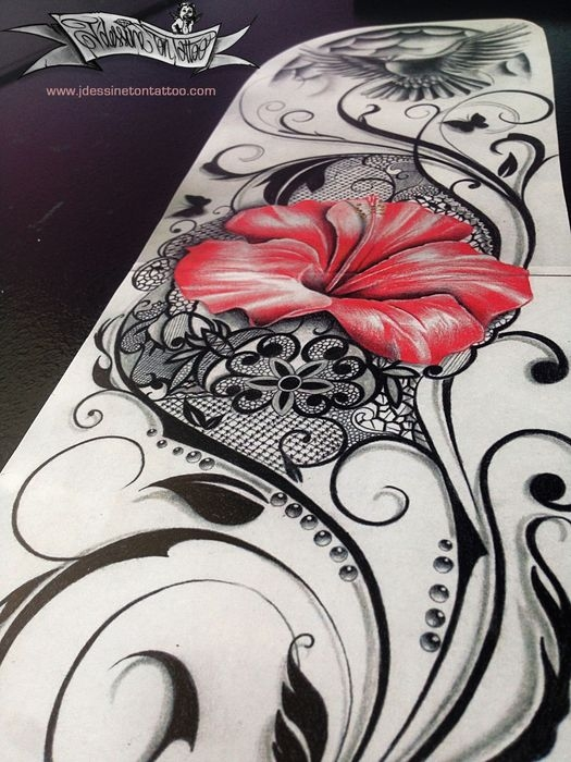 Flower Sleeve Maingriz