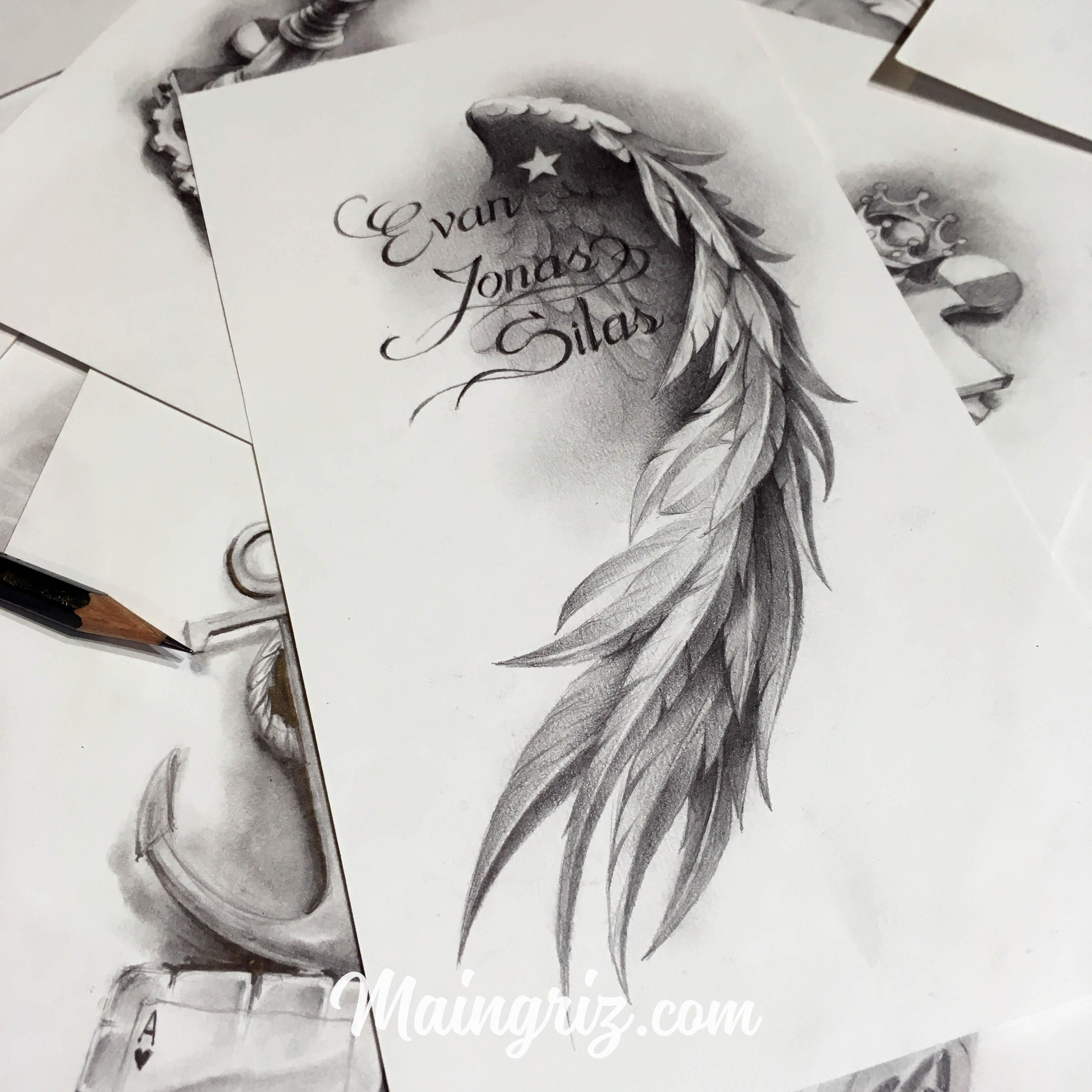 Angel Tattoo Design Maingriz Tattoo Design