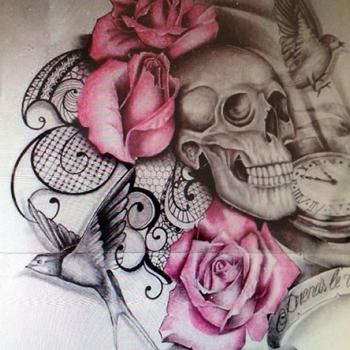Maingriz Custom Tattoo Design
